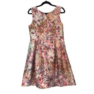 Girls Floral Dress Size 10 Special Occasion